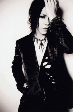 Aoi Guitarist for The GazettE | I want to know where he got that necklace....