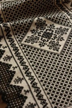 Black thread on a natural fabric -- hardanger and cross stitch - hilo embroidery classroom - Archives / Gallery 2 ... 2013
