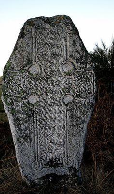 Pictish Cross -Dinnet-Aberdeenshire-Scotland Please follow: http://pinterest.com/treypeezy http://treypeezy.com