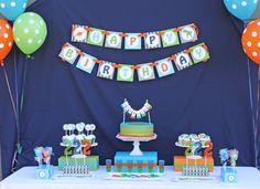 Photo 1 of 16: Dinosaur / Birthday Haydens Dinosaur Birthday Party | Catch My Party