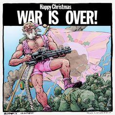 Highly Questionable Santa 2014 Santa Christmas, Christmas Cards, Happy Holidays, Doodles, Comic Books, Comics, Illustration, Artwork, Christmas E Cards