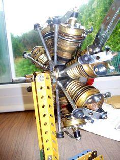 Bristol Bulldog Jupiter engine rear by Les Chatfeild., via Flickr