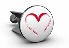 Waschbecken-Stöpsel plopp - Herz
