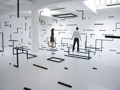 display + installation # 26 Esther Stocker