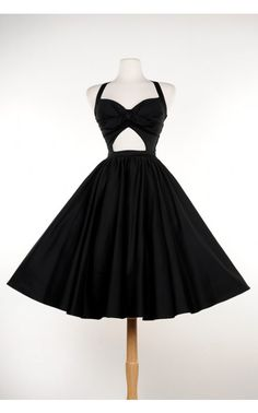 Pinup Couture- Renee Dress in Black | Pinup Girl Clothing