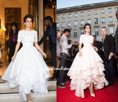 Kangana in Ralph & Russo - she just crossed Nat Poo on my list of fashion idols. Perfection.