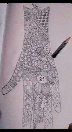 18 Best Ideas For Tattoo Girl Outfit Indian Henna Designs, Finger Henna Designs, Basic Mehndi Designs, Mehndi Designs 2018, Mehndi Designs For Girls, Mehndi Designs For Beginners, Wedding Mehndi Designs, Mehndi Designs For Fingers, Dulhan Mehndi Designs
