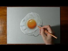 How I draw a perfectly fried egg :)