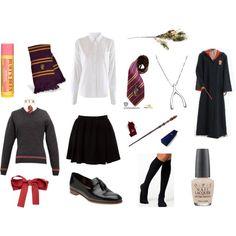 """Hogwarts"" by sunnymoose on Polyvore"