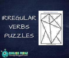 English Freak | Blog o nauczaniu języków obcych: IRREGULAR VERBS PUZZLES - PUZZLE Z CZASOWNIKAMI NI...