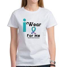 Thyroid Cancer Womens T-Shirt