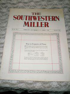 SOUTHWESTERN MILLER MAGAZINE MARCH 1959-OLD MILLING CO FLOUR GRAIN ADS