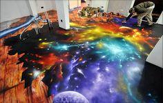 Incredible graffiti floor on http://www.drlima.net