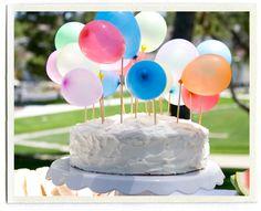 Cómo decorar una tarta de cumpleaños