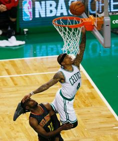 Isaiah Thomas of the Boston Celtics.