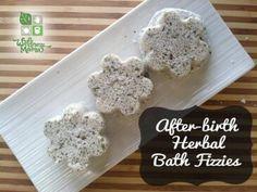 After Birth Herbal Bath Fizzies DIY Recipe 365x274 After Birth Bath Fizzies