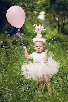 I could see Miss P in a little tutu running around with her balloon on her bday!