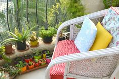 Design Decor & Disha: Balcony Gardens With Personal Touches