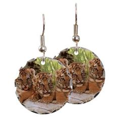 Tiger Cubs Earring on CafePress.com