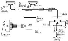 off road lights wiring diagram | alternate com | pinterest ... xj led light bar wiring diagram