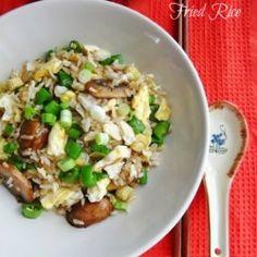 Vegetarian Chinese Egg Fried Rice