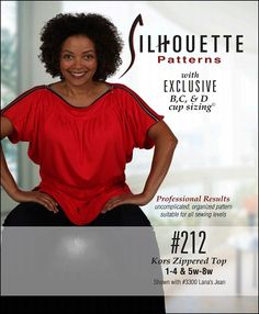 Silhouette Patterns 212 with shoulder zippers