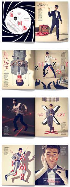 The Ties That Bond by Matt Chase  #design #poster #theater #dance #illustration #magazine