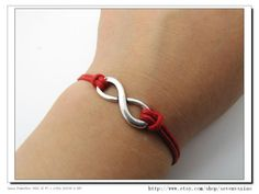 10OFF Discount Red Ropes Steampunk Bracelet antique by sevenvsxiao, $2.59