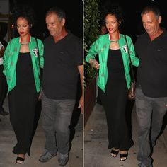 Rihanna wearing adidas Originals Mexico track jacket, Rick Owens Coda maxi skirt, Manolo Blahnik snakeskin Kevo sandals, Louis Vuitton Alma BB handbag, Lynn Ban coil ring, Mala by Patty Rodriguez Where you from? Bridgetown necklace, Jacquie Aiche labradorite necklace
