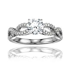 DK Jewel - available on Joolz! Lovely engagement ring.