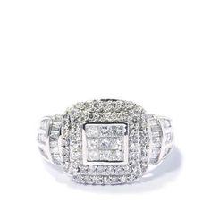 1ct Diamond Tomas Rae 9K White Gold Ring