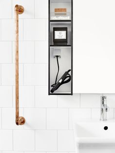 Aspen Badrum / Avan / Vit / Svart / White / Black / Scandinavian / Design / Bathroom Furniture