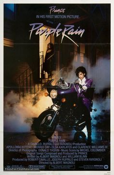 Purple+Rain+movie+poster This is a very good movie. It will remain a classic for many years to come.  It is a unique film and started a musical artist's career in to the stratosphere. There is also some good music in this film too.