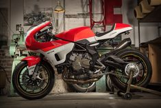 Words by Walt Siegl. I always had a soft spot for the raw brutishness of 80s Endurance bikes, and I wanted to use an MV Agusta, which I have been in love with since I was a little boy. MV is still a boutique, totally romantic product, built in a former airplane factory in San...