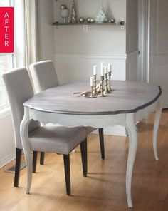 Before & After: A Dining Table That's Worth the Work | Apartment Therapy