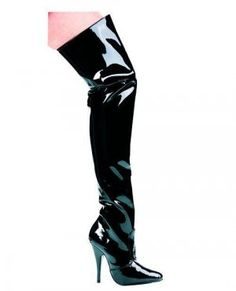 """The Susie Thigh-High Boot 5"""" Heel"""