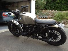 Bmw Brat Style #motos #bratstyle #motorcycles | caferacerpasion.com