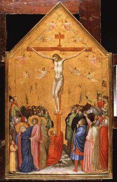 Giotto di Bondone, Kreuzigung Christi, ca. 1315 © Staatliche Museen zu Berlin, Gemäldegalerie; Foto: Jörg P. Anders