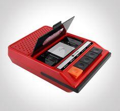 iRecorder - iPhone Speaker im Retro Kassettenrekorder Look