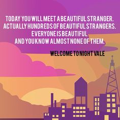 Beautiful Stranger - Welcome to Night Vale