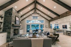 Decorating A Small Split Level Home With Vaulted Ceiling