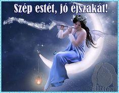 la luna by arianereis on DeviantArt Angels Beauty, Experimental Music, Peace And Harmony, Good Morning Good Night, Beautiful Fairies, Illustrations, Fairy Art, Moon Child, Blue Moon