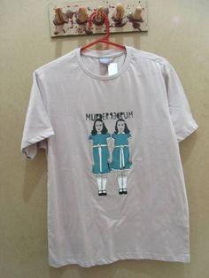 Camiseta Masculina O Iluminado Tamanho M R$ 62,00  www.elo7.com.br/dixiearte