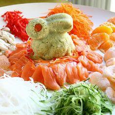 Fish salad/yu sheng