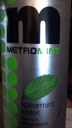 Metromint. Mint flavored water.