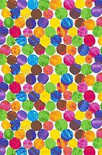 Cotton The Very Hungry Caterpillar Eric Carle Dots Cotton Fabric Print D673.24