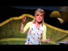 Beth Moore- you can't miss Gods will.  Wise words and  great scripture that spoke to my heart.