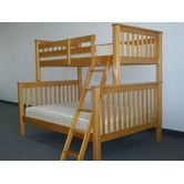 Found it at Wayfair - Mission Twin over Full Bunk Bed