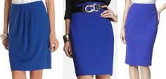 Suits are a must, but so is color!  Color: Blue