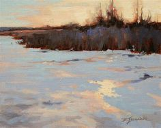 "Daily Paintworks - ""Frozen"" - Original Fine Art for Sale - © Barbara Jaenicke"
